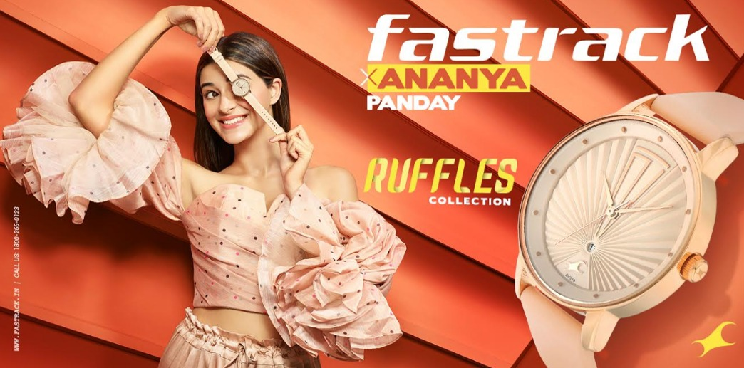 This festive season, be ready to ruffle up some feathers with Fastrack x Ananya Panday