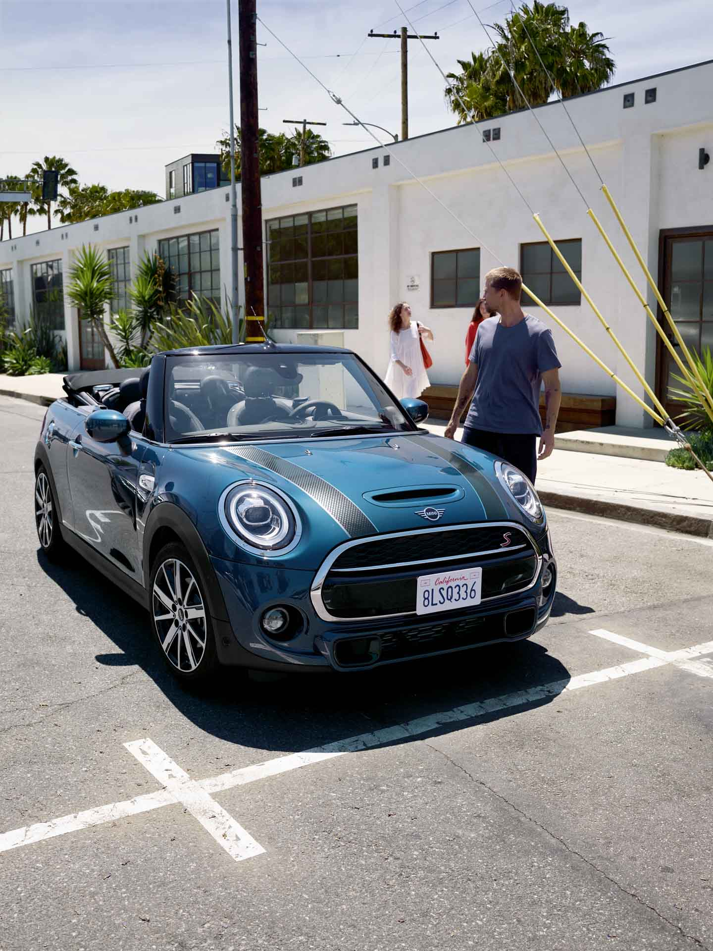 The new MINI Convertible Sidewalk Edition launched in India.