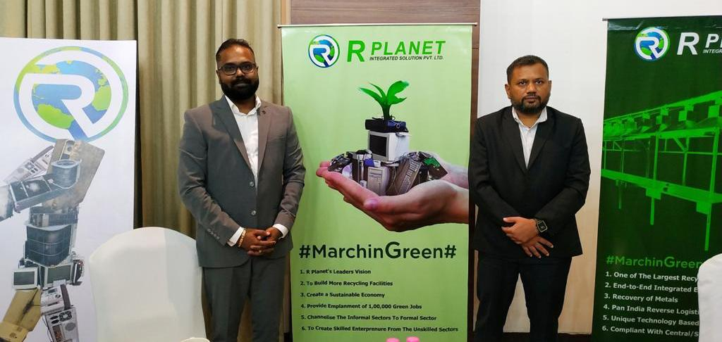 Ahmedabad's 'The RPlanet Integrated Solutions'              is the only company that makes recycle of E-waste of metal products