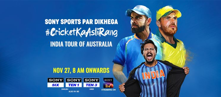 India Tour of Australia 2020 goes LIVE on SonyLIV; Scam 1992 travels South along with the host of other shows
