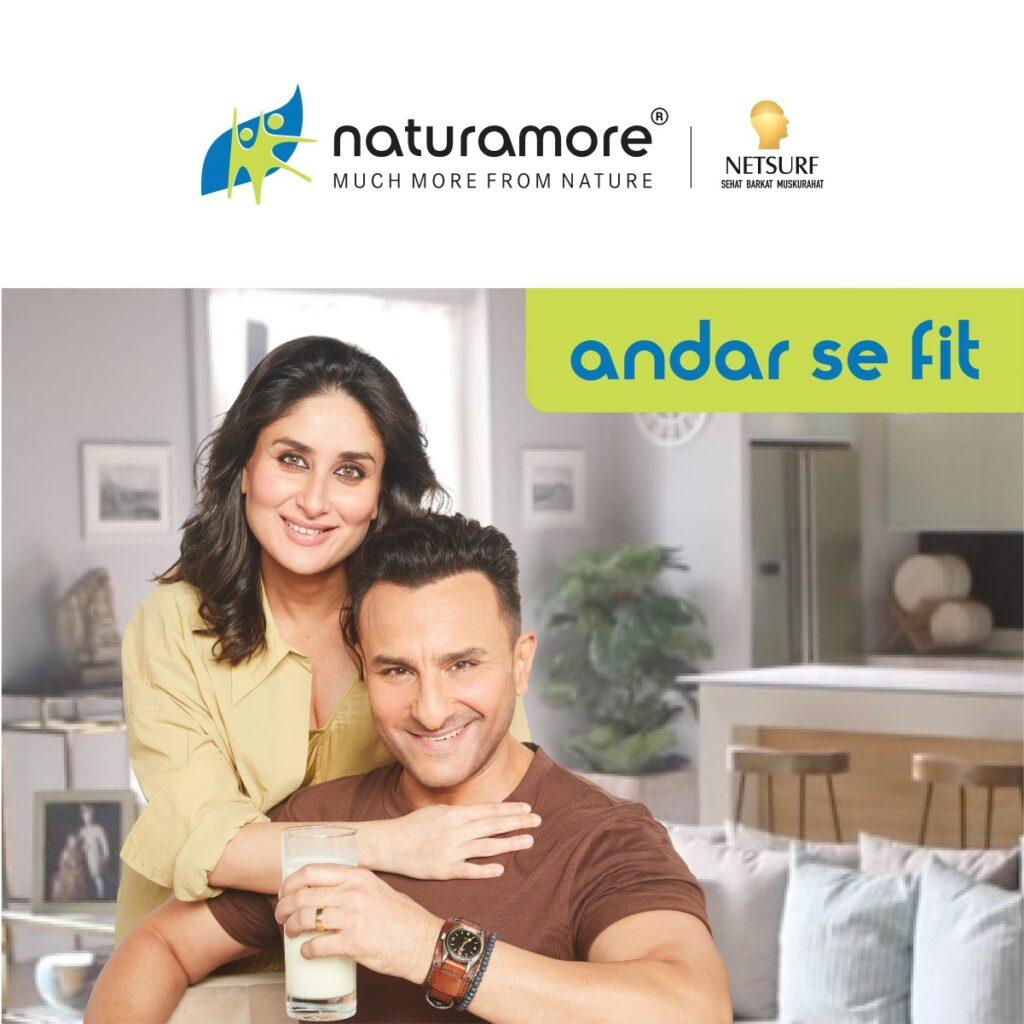 Saif & Kareena reveal their secret of being 'andar se fit' with Naturamore by Netsurf Network