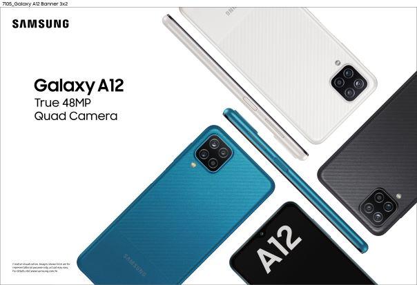 Samsung Galaxy A12 India's Best-in-segment with 48MP Quad Camera