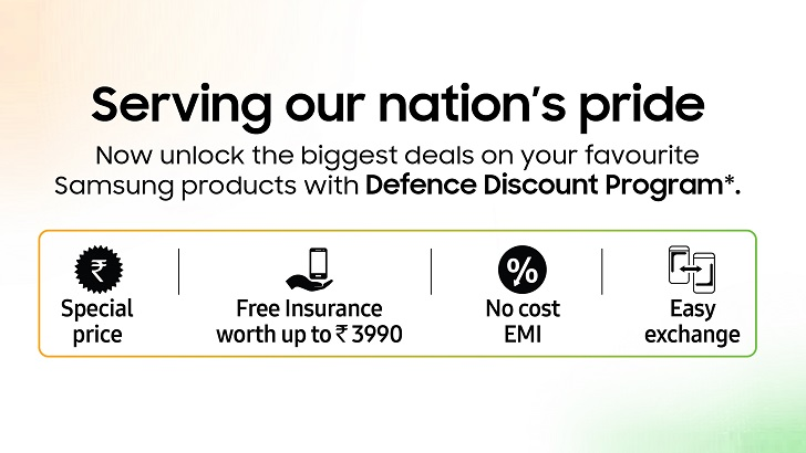 Samsung & udChalo jointly launches exciting purchase program for Defence Personnel