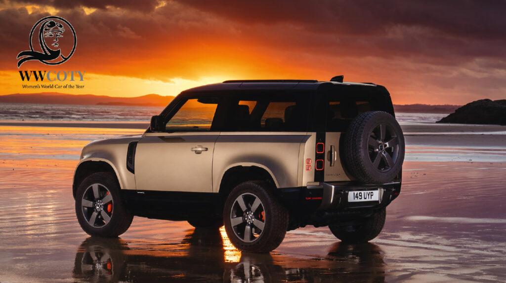 Land Rover Defender wins  Women's World Car Of  2021 Award