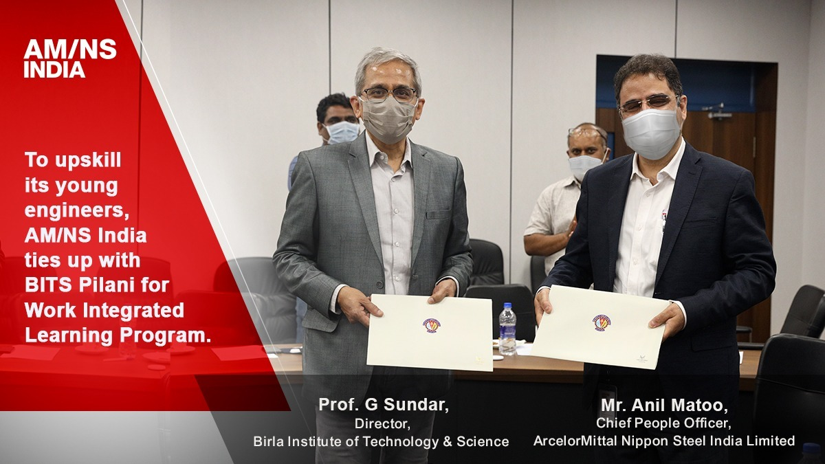 AM/NS India signs MoU with BITS Pilani to upskill its engineers