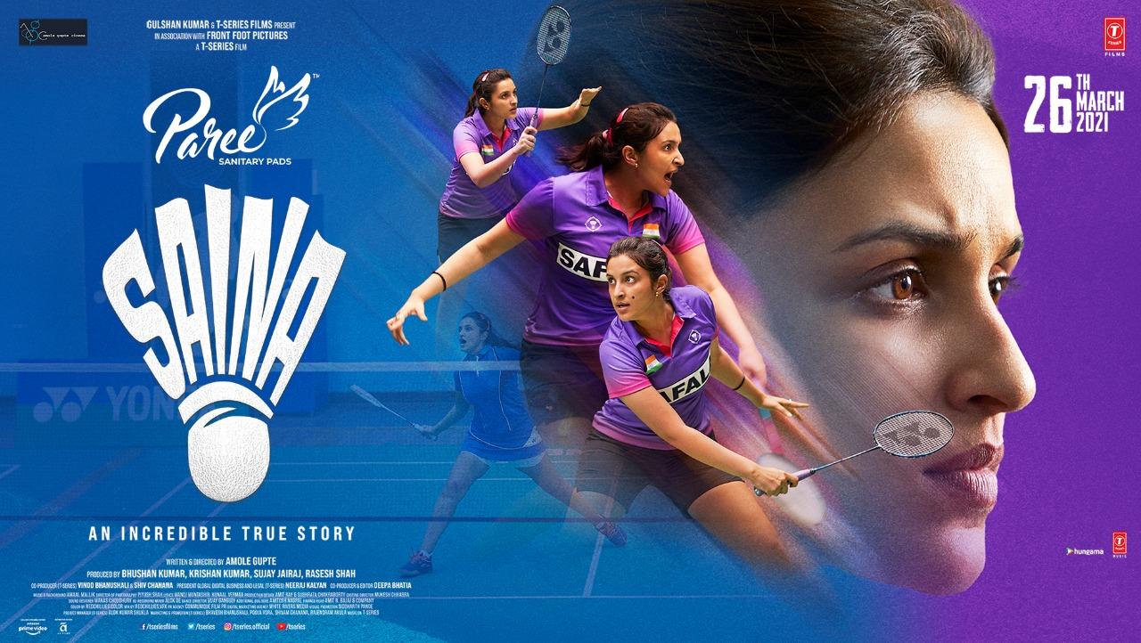 Paree Sanitary Pads collaborates with Parineeti Chopra for sports biopic 'Saina'