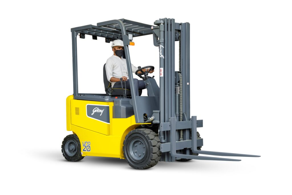 Godrej Material goals to seize 30% market share of the counterbalance electrical forklift market by 2024