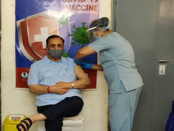 Gujarat CM gets first dose of COVID-19 vaccine