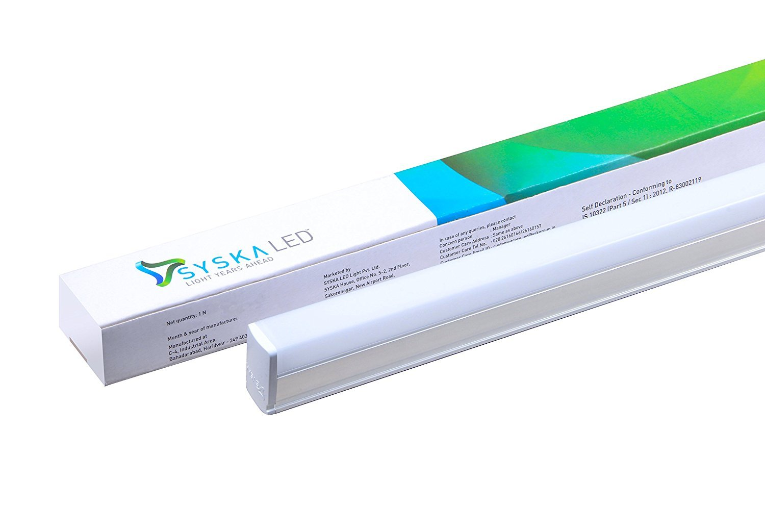 Working from home will become easy:Syska launches two unique LED products – Syska T5 LED Batten and Syska T5 LED Batten (AL)