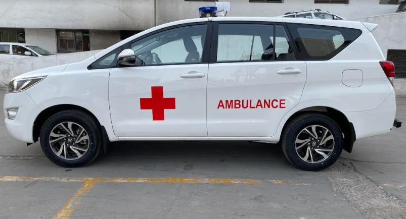 Infinium Toyota to convert 200 Innova MPV into 'Ambulance Van' for MPs & MLAs hospitals at subsidies cost