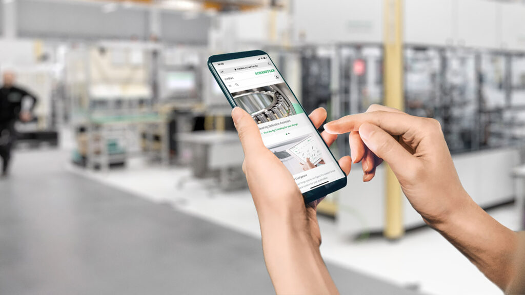 Schaeffler combines e-commerce, knowledge base and product catalog in a single platform