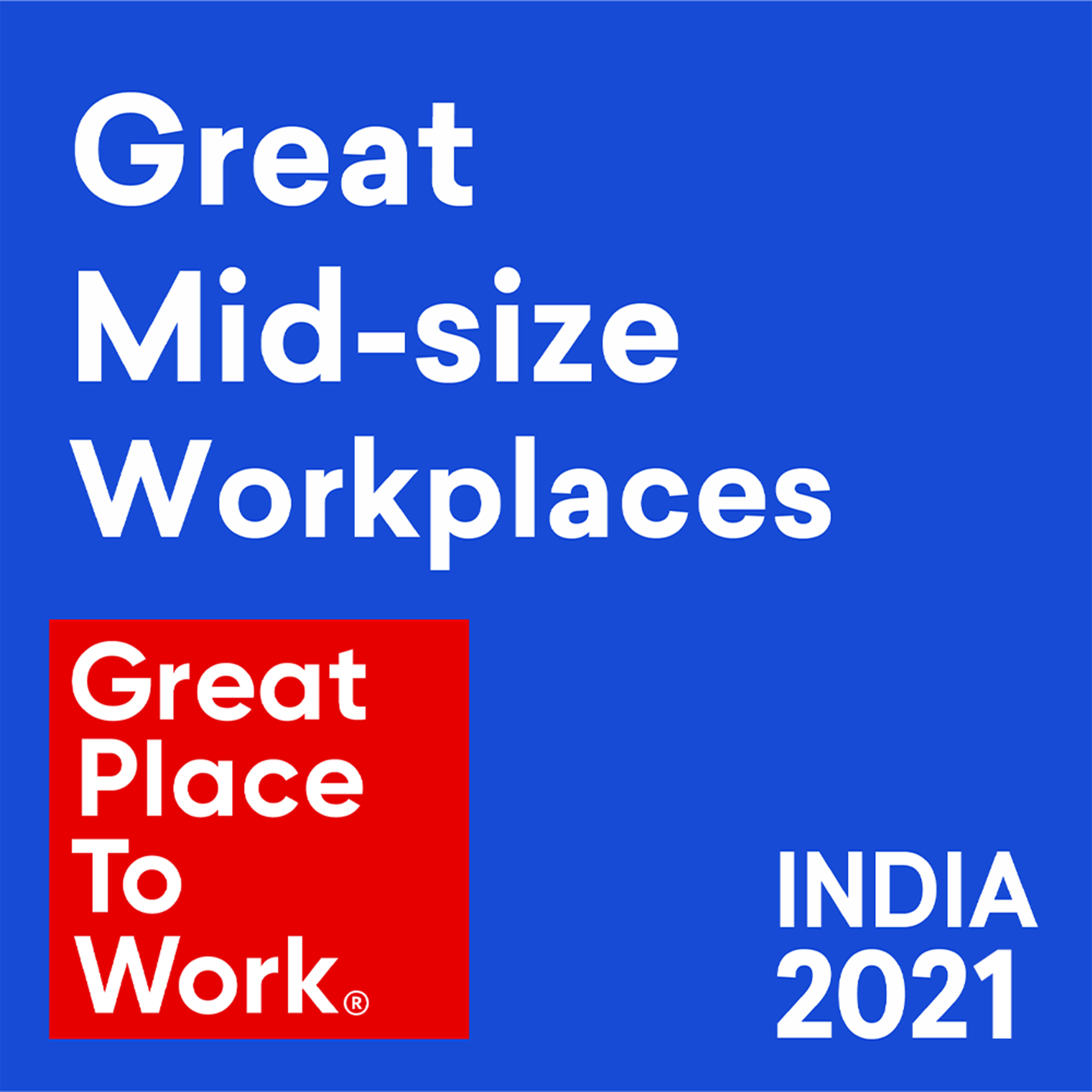 Great Place to Work® Certifies Modicare Limited as India's 5th best Mid-size Company to Work for the Second Consecutive Year in 2021