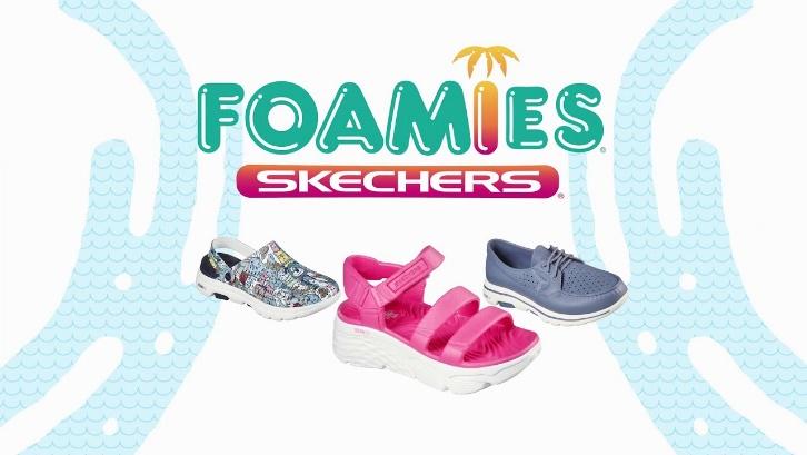 Skechers Foamies Bring Comfort with a Splash of Color