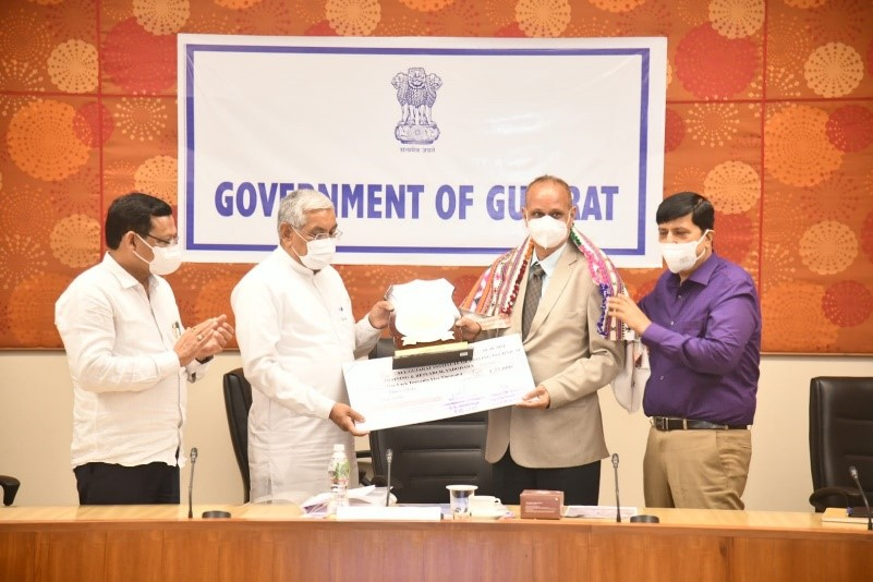 All Gujarat Institute of Driving, Technical Training and Research (AGIDTTR), adjudged winner of Gujarat State Road Safety Award 2020-21