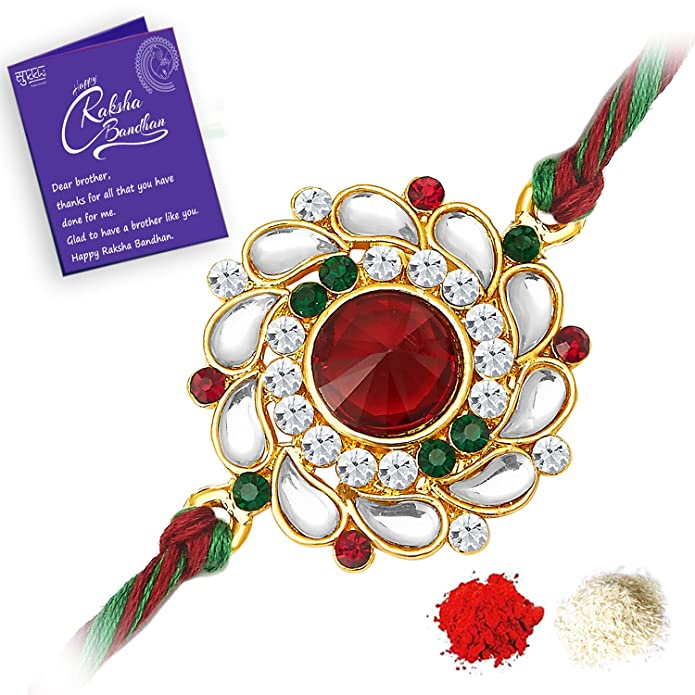 Get the best stylish Rakhis at Amazon.in 'Rakhi Store'