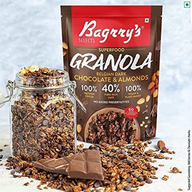 Bagrry's launches exciting Superfood Granola range with Belgian Chocolate & Exotic Fruit variants
