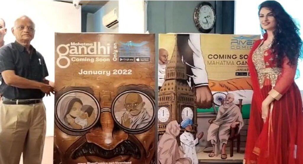 River Comics App Brand launches its new digital series on Mahatma Gandhi